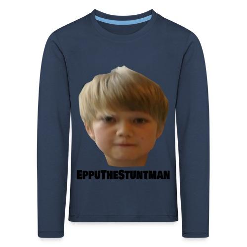 EppuTheStuntman - Lasten premium pitkähihainen t-paita