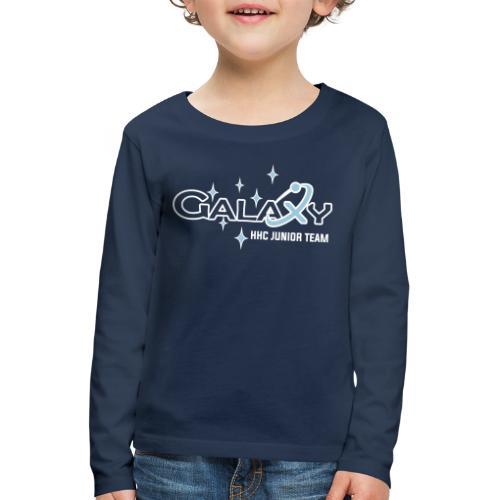 Galaxy - Kinder Premium Langarmshirt