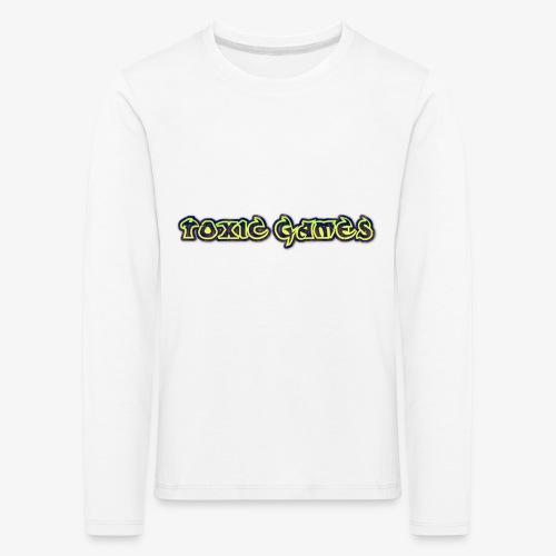 toxic games logo - Kids' Premium Longsleeve Shirt