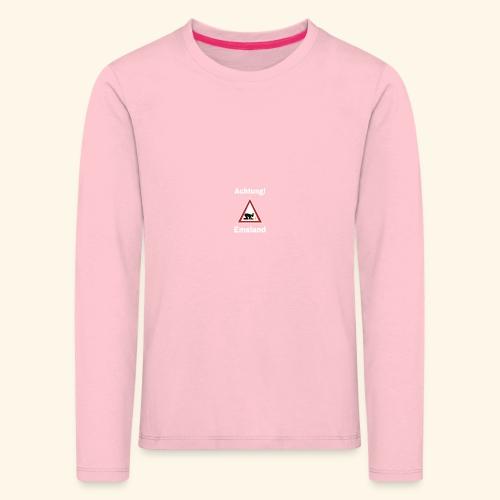 ACHTUNG Emsland Shirt T-Shirt Suff Schützenfest - Kinder Premium Langarmshirt