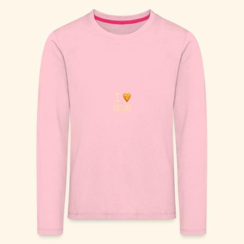 I liebe das Emsland Love Saufen Trinken Alkohol - Kinder Premium Langarmshirt