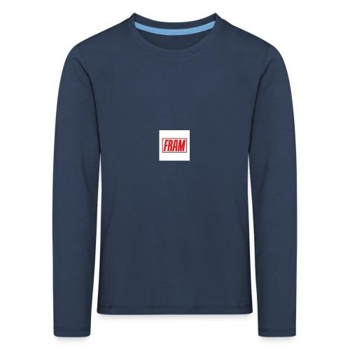 LogoSample ByTailorBrands - Kinderen Premium shirt met lange mouwen
