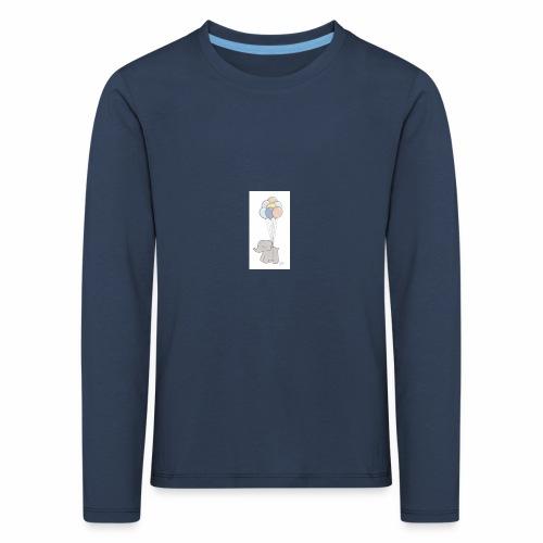B1A831CF 74F5 4A72 AD33 E76EF0C50A50 - Børne premium T-shirt med lange ærmer