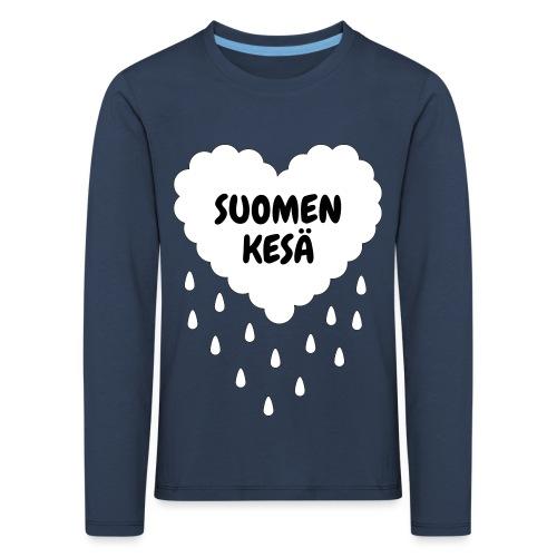 Suomen kesä - Lasten premium pitkähihainen t-paita