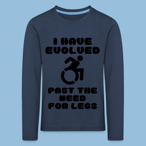 pastneed - Kinderen Premium shirt met lange mouwen