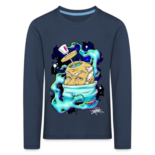 Spray Genius - Graffiti character design - T-shirt manches longues Premium Enfant