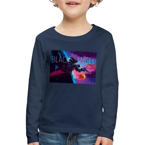 BLACK ANGEL COVER ART - T-shirt manches longues Premium Enfant