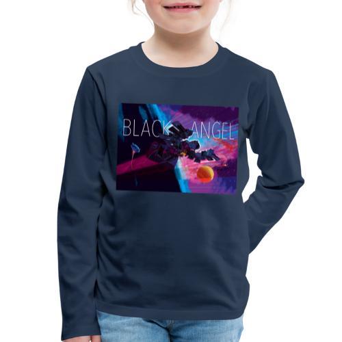 BLACK ANGEL COVER ART - T-shirt manches longues Premium Enfant