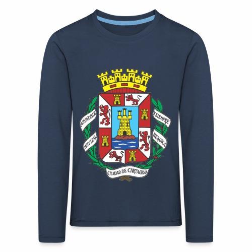 Escudo Cartagena - Camiseta de manga larga premium niño