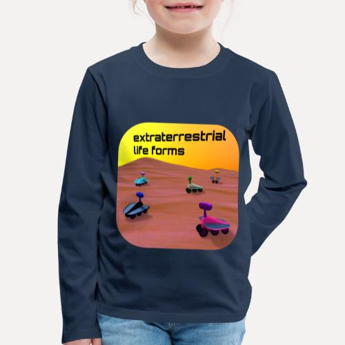 Leben auf dem Mars - Kids' Premium Longsleeve Shirt