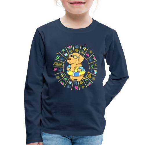 Take me to the Beach! - Lasten premium pitkähihainen t-paita