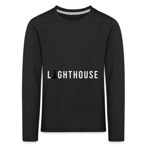 Lighthouse Logo - Kinder Premium Langarmshirt