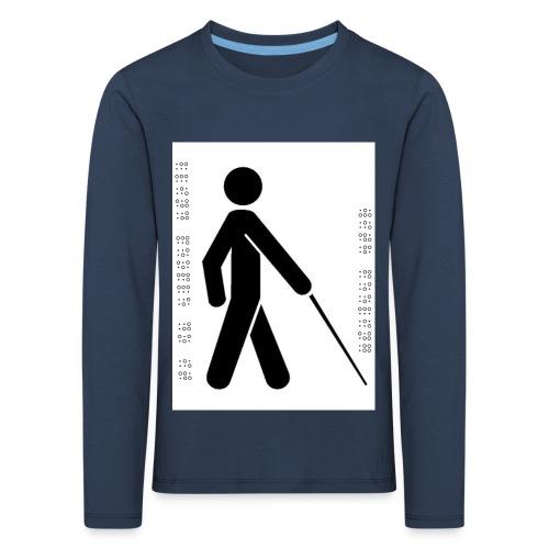 Blind T-Shirt - Kids' Premium Longsleeve Shirt