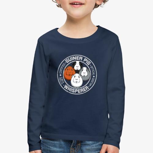 Guinea Pig Whisperer II - Lasten premium pitkähihainen t-paita