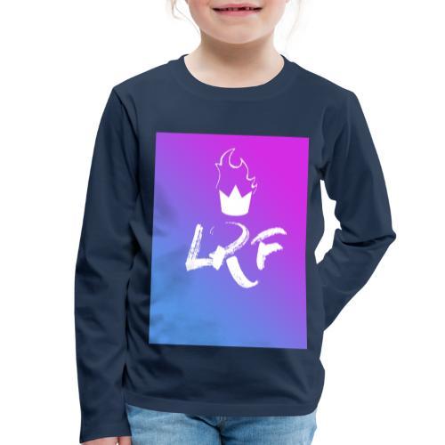 LRF rectangle - T-shirt manches longues Premium Enfant