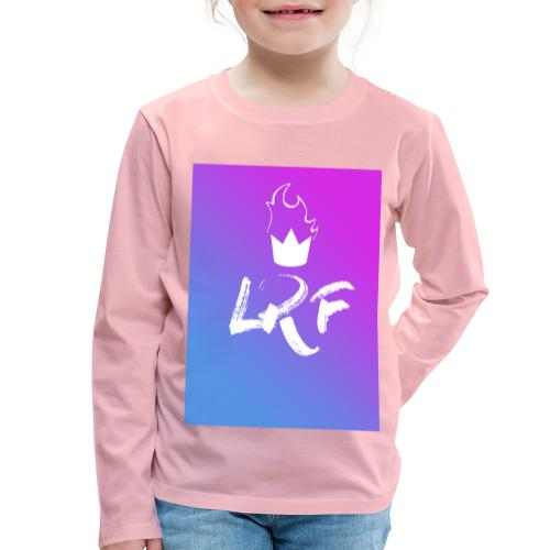 LRF rectangle - T-shirt manches longues Premium Enfant