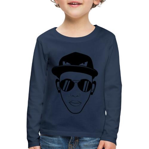 adhex cara - Camiseta de manga larga premium niño