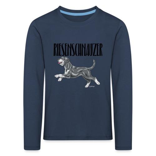 Riesenschnauzer 01 - Kids' Premium Longsleeve Shirt