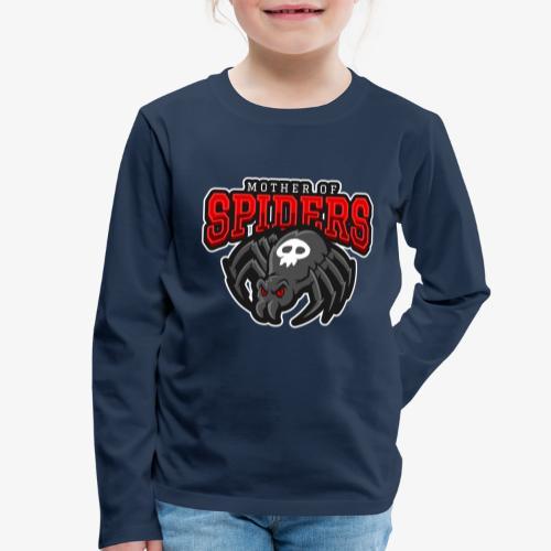 Mother of Spiders - Lasten premium pitkähihainen t-paita