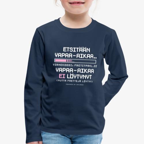 Ei Vapaa-aikaa - Fretit - Lasten premium pitkähihainen t-paita