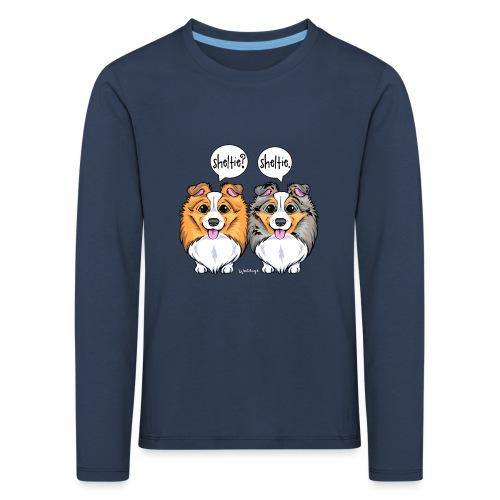 Sheltie Sheltie 3 - Kids' Premium Longsleeve Shirt