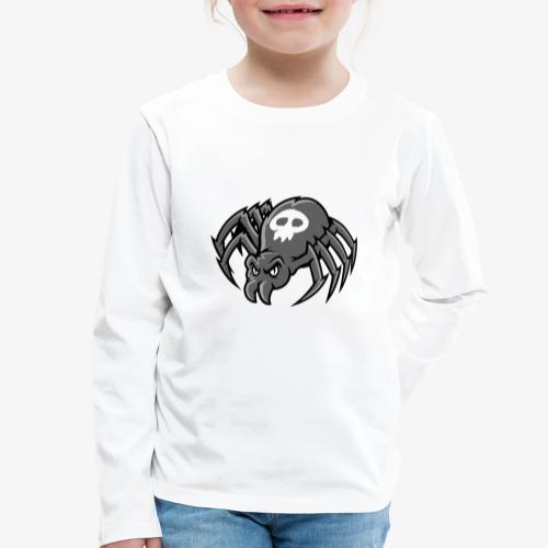 Angry Spider III - Lasten premium pitkähihainen t-paita