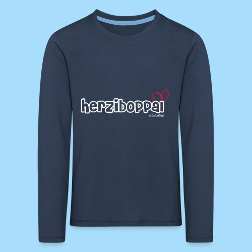 Herziboppal - Kinder Premium Langarmshirt