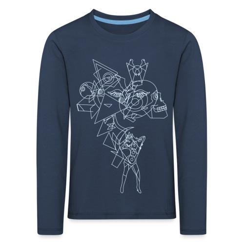 Vibrant light - Kinderen Premium shirt met lange mouwen