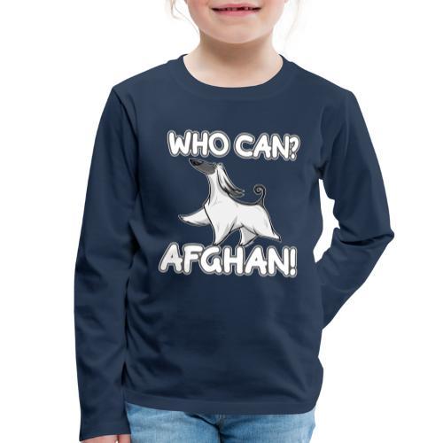 Who Can Afghan III - Lasten premium pitkähihainen t-paita