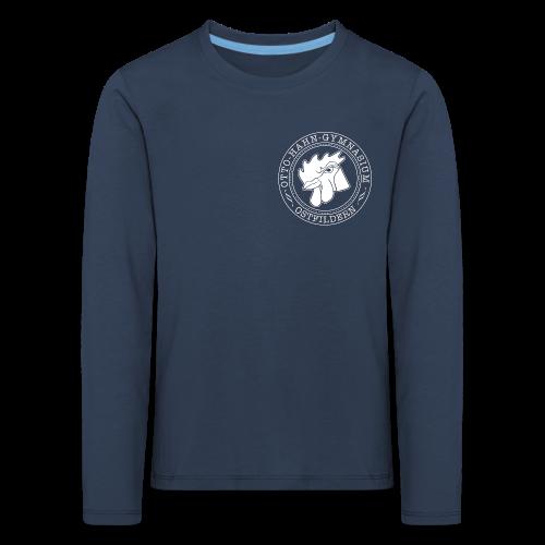 CIRCLE DESIGN - Kinder Premium Langarmshirt