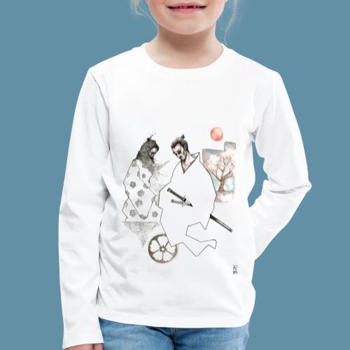 Samurai copia jpg - Maglietta Premium a manica lunga per bambini