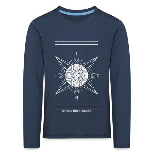 DE PIONEER [WIT] - Kinderen Premium shirt met lange mouwen