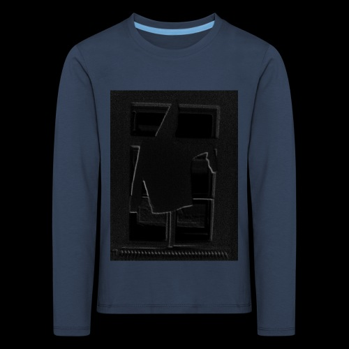 Dark Negative - Kids' Premium Longsleeve Shirt