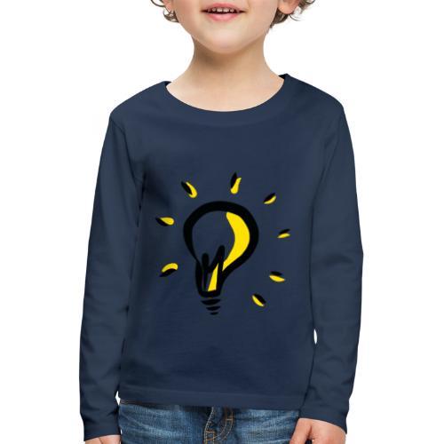 Geistesblitz - Kinder Premium Langarmshirt