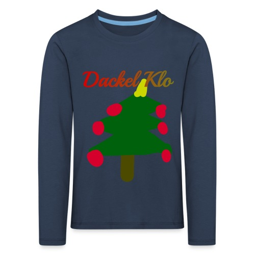 Dackel Klo - Kinder Premium Langarmshirt
