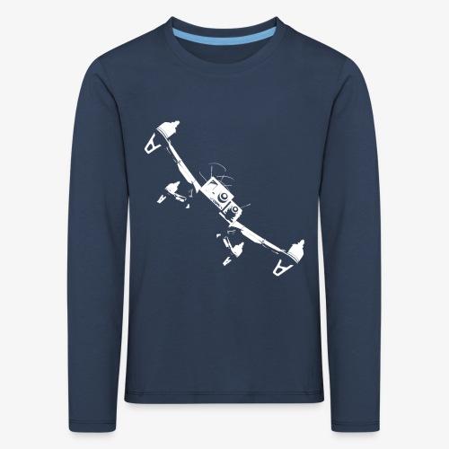 quadflyby2 - Kids' Premium Longsleeve Shirt