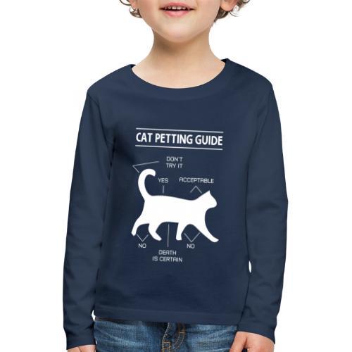 CAT GUIDE - T-shirt manches longues Premium Enfant