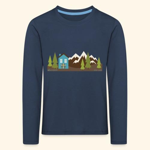 casettaAC - Maglietta Premium a manica lunga per bambini