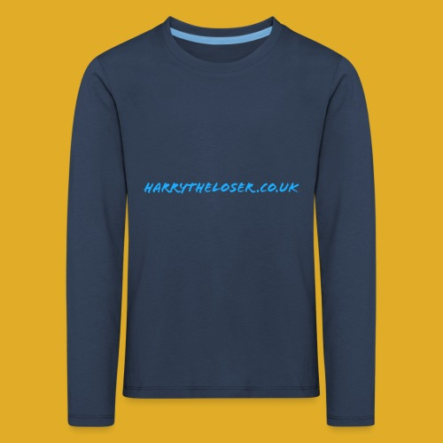 harrytheloser.co.uk - Kids' Premium Longsleeve Shirt