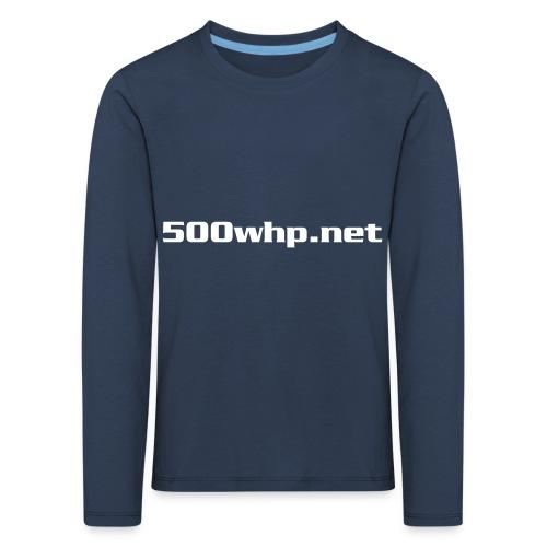 500whpcs1 - Lasten premium pitkähihainen t-paita