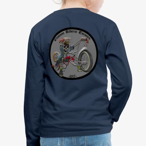 Custom Riders Emmen - Kinderen Premium shirt met lange mouwen