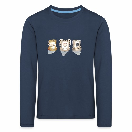 Dont Rasmus Balstrøm colors - Børne premium T-shirt med lange ærmer