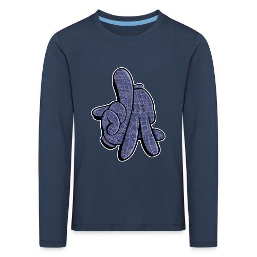 LA hands - Børne premium T-shirt med lange ærmer