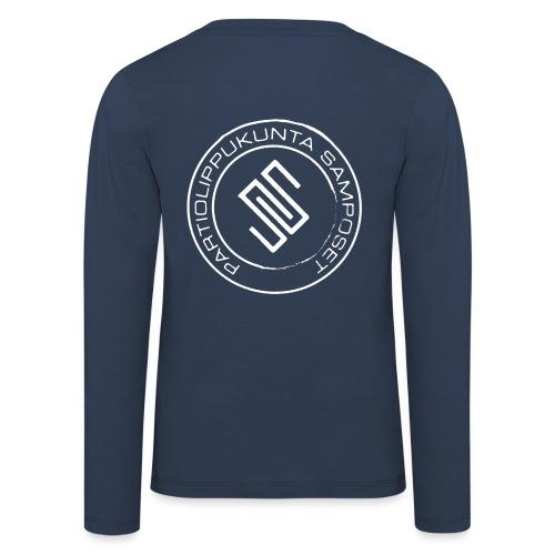 Leima läpinäkyvä - Lasten premium pitkähihainen t-paita