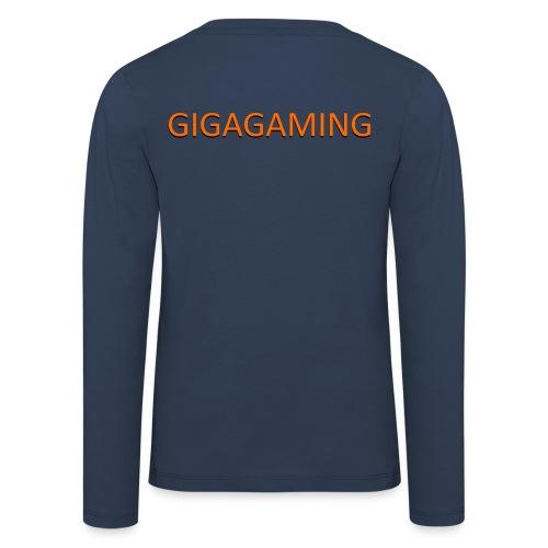 GIGAGAMING - Børne premium T-shirt med lange ærmer