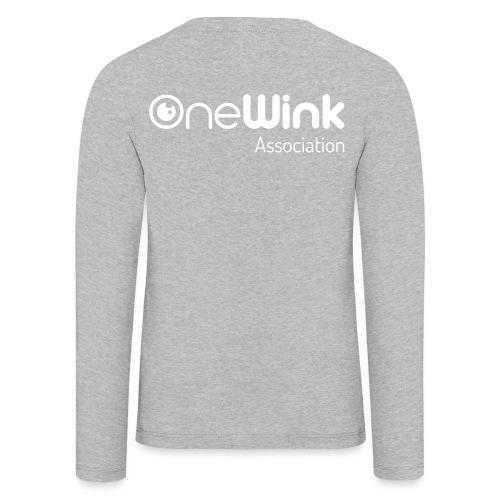 OneWink Association - T-shirt manches longues Premium Enfant