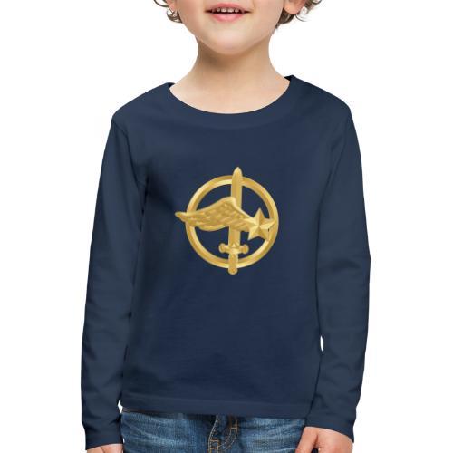Tasse Fusiliers Commandos de l'Air - T-shirt manches longues Premium Enfant
