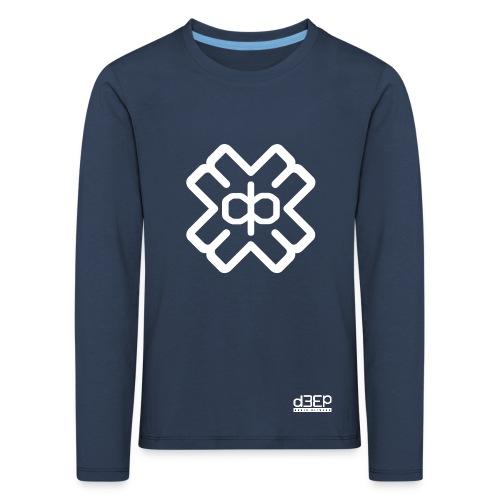 d3eplogowhite - Kids' Premium Longsleeve Shirt