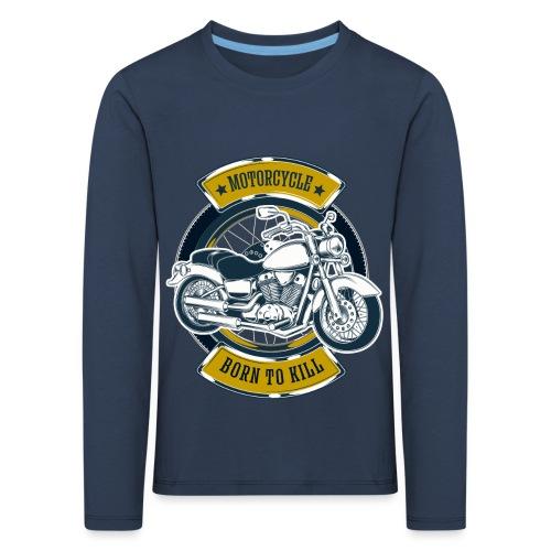 Motorcycle5 - Camiseta de manga larga premium niño