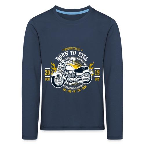 Motorcycle1 - Camiseta de manga larga premium niño